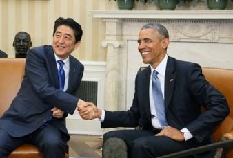 安倍総理大臣 日米首脳会談
