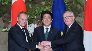 【日EU首脳協議】「南シナ海」「ウクライナ」で連携、EPA交渉加速