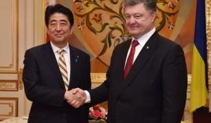 日・ウクライナ首脳会談、デーニ紙による安倍総理大臣インタビュー