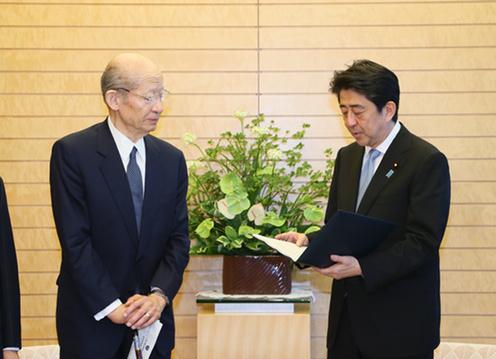 150806 20世紀を振り返り21世紀の世界秩序と日本の役割を構想するための有識者懇談会(21世紀構想懇談会)による報告書の提出2
