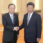 「抗日行事」出席の潘基文国連事務総長に、批判続々