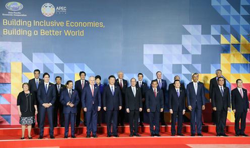 151119 APEC 首脳集合写真