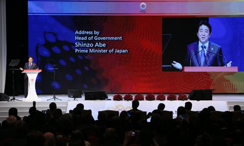 151121 ASEAN ビジネス投資サミット 安倍首相スピーチ