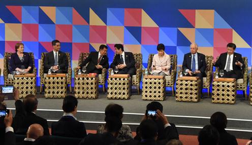 151119 APEC 首脳とAPECビジネス諮問委員会(ABAC)委員との対話