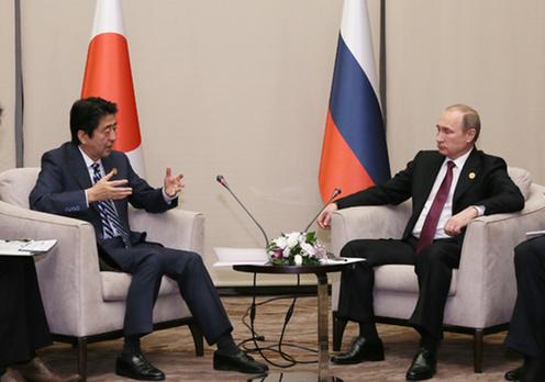 151115 G20アンタルヤ・サミット 日露首脳会談