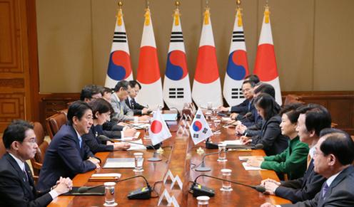 151102 日韓首脳会談