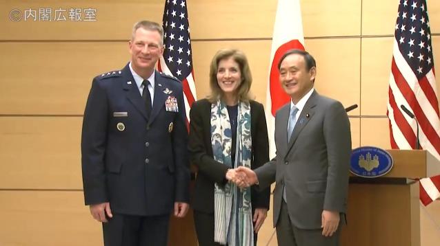 平成27年12月4日 金 午後2 ケネディ駐日米国大使との共同記者発表 政府インターネットテレビ