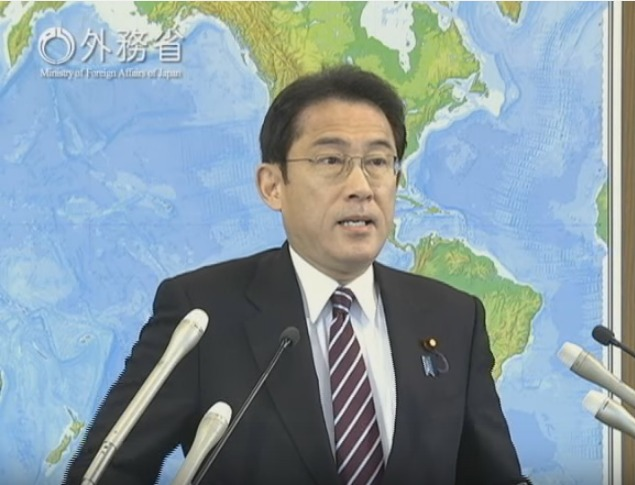 160104 岸田外務大臣会見