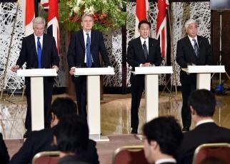 160108 第2回日英外務・防衛閣僚会合(「2+2」)3