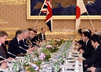 160108 第2回日英外務・防衛閣僚会合(「2+2」)2