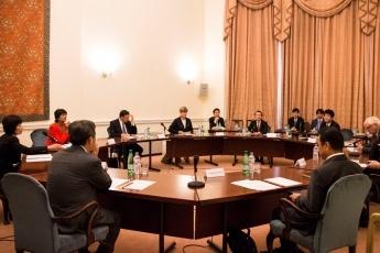 150910 ジャパンハウス 薗浦外務大臣政務官の英国訪問
