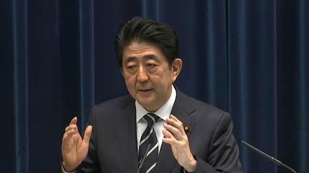 160329 安倍内閣総理大臣記者会見2