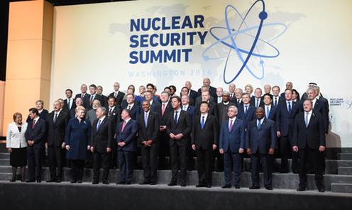 160401 米国核セキュリティ・サミット3日目 首脳写真撮影1