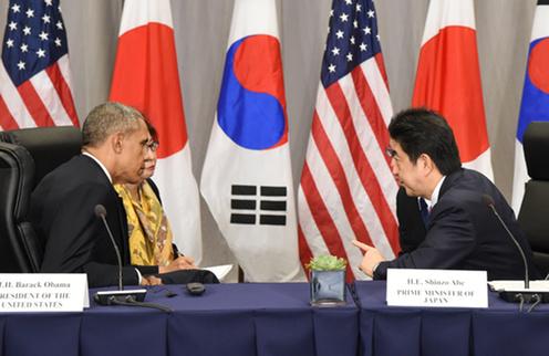 160331 米国核セキュリティ・サミット2日目 日米首脳会談1