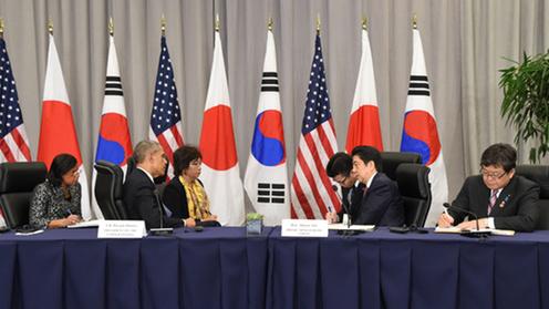 160331 米国核セキュリティ・サミット2日目 日米首脳会談2