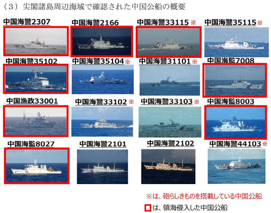 160810 尖閣諸島周辺海域における中国公船及び中国漁船の活動状況について_2_2