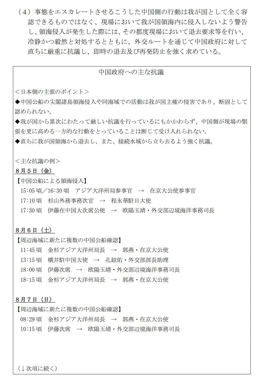 160810 尖閣諸島周辺海域における中国公船及び中国漁船の活動状況について_3