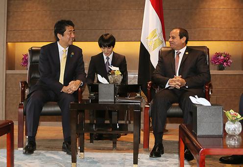 160904 G20 日エジプト首脳会談