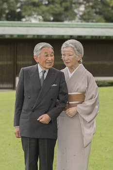 皇后陛下お誕生日に際してのご近影