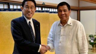 岸田外務大臣と夕食会のドゥテルテ・フィリピン大統領「また呼んで欲しい」