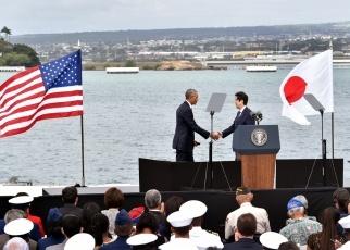 米国訪問 日米両首脳によるステートメント