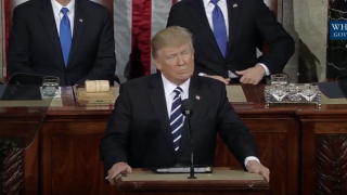 トランプ大統領、上下両院合同会議で初の施政方針演説<概要><英語全文>