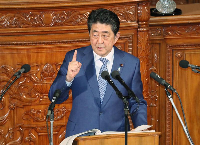 180122 第196回国会における安倍内閣総理大臣施政方針演説