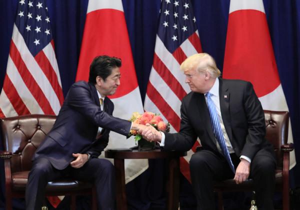 日米首脳会談 安倍晋三 ドナルド・トランプ
