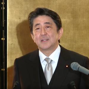安倍内閣総理大臣年頭記者会見 平成31年1月4日
