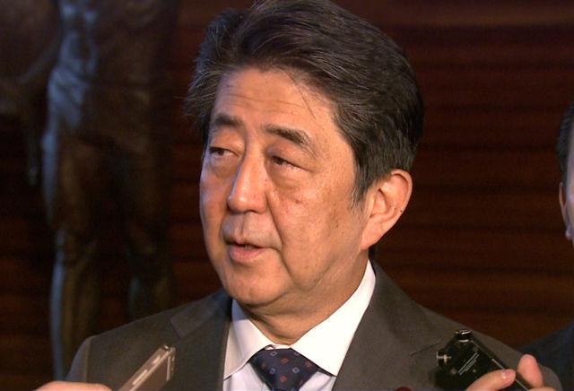 安倍総理 北朝鮮による飛翔体発射についての会見